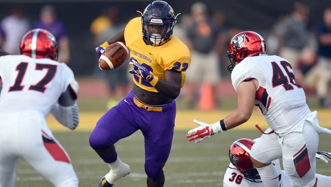 Hattiesburg running back Fabian Franklin is the top rated player in Mississippi for the class of 2018.