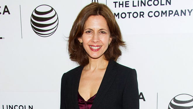 "Jessica Hecht attends the Tribeca Film Festival world premiere of ""Anesthesia"" at the BMCC Tribeca Performing Arts Center in New York on April 22, 2015."