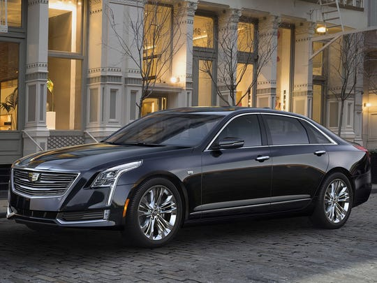 This photo, provided by Cadillac, shows a 2018 Cadillac