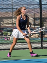 Snow Canyon's Shayli Habibian, a freshman, is one of