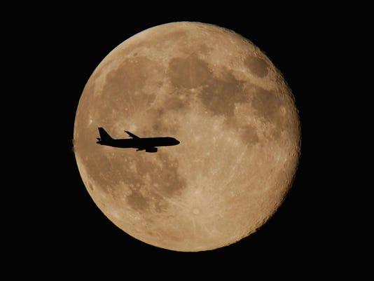 Passenger jet