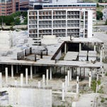 The unfinished Wayne County Jail project in Detroit is to undergo an assessment as the county weighs the possibility of restarting construction at the site.