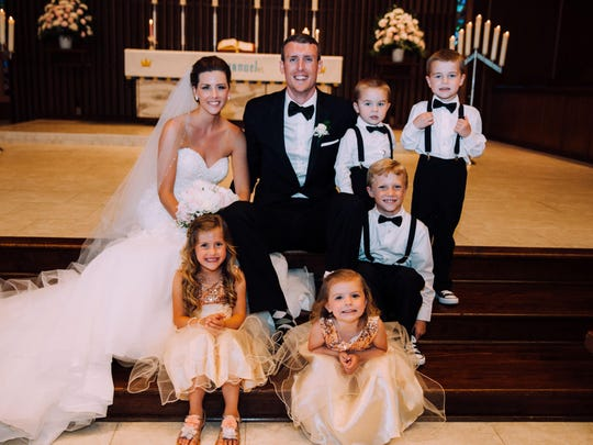 Heather Houser and Isaac Mulvihill married on June 4, 2016