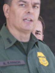 Rodolfo Karisch, the chief agent for the Border Patrol's
