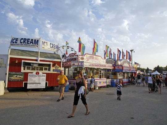 Law enforcement issues are rare during the Sheboygan County Fair, police say.