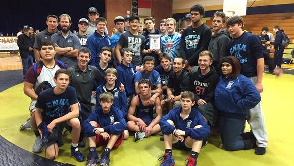 Enka wrestling won the Trojan Duals tournament on Saturday