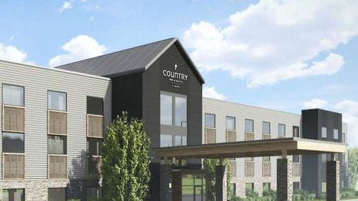 A Country Inn & Suites, like the one pictured here, is planned for Westgate Shopping Center.