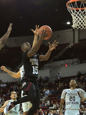 Mississippi State guard I.J. Ready missed the team's last two practices because of an injury.