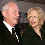 Anthony Kidman and his daughter, actress Nicole Kidman, arrive to the Palm Springs International Film Festival in Palm Springs, Calif. in January 2005. On Tuesday, she broke her public silence since the death of her father more than two weeks ago.