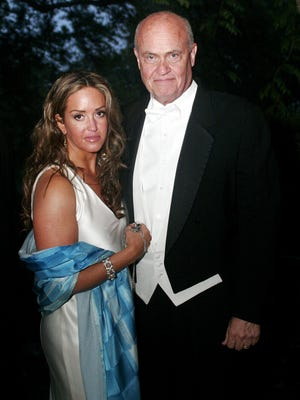 Fred Thompson and his wife, Jeri, arrive for the Swan Ball at Cheekwood on June 11, 2005. Jeri Thompson says the late senator's adult sons were never part of his will, the latest in a legal fight over Fred Thompson's estate.