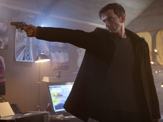 "David Tennant in ""Bad Samaritan."""