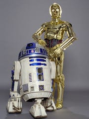 "C-3PO (right), from the ""Star Wars"" saga, was inspired by the ""robotrix"" from ""Metropolis"""
