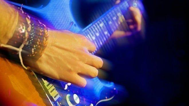 Rock guitar.
