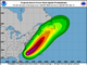 Tropical Storm Chris: Wind speed possibilities as of