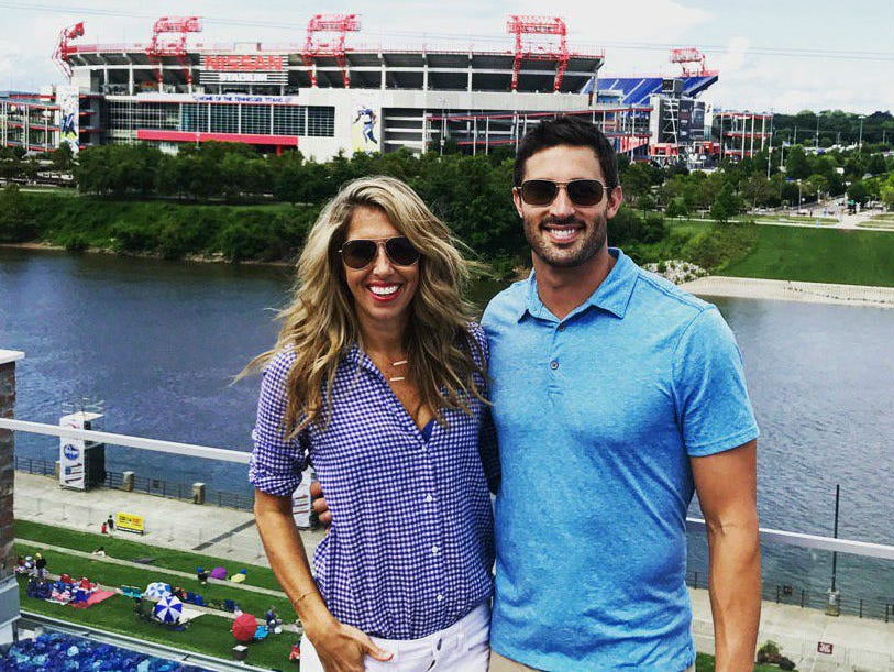 Former WKRN-2 sports reporter Sara Walsh, who spent the past seven years at ESPN, and her husband, former Vanderbilt pitcher Matt Buschmann, have moved back to Nashville.
