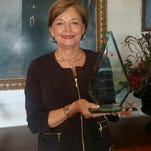 Chennault Museum Director Nell Calloway was the receipient of the 2015 Distinguished Friends of China