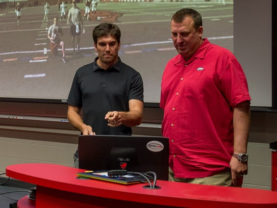 Belch and Bielema review STriVR's capabilities in the