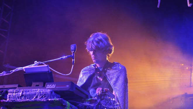 Bunbury Music Festival 2014 wrapped up its third year.  Flaming Lips perform.