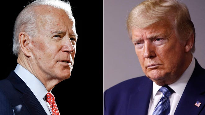Former Vice President Joe Biden and President Donald Trump are on opposite sides of the vote-by-mail issue.