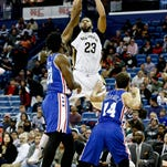 Anthony Davis to start for NBA West All-Stars