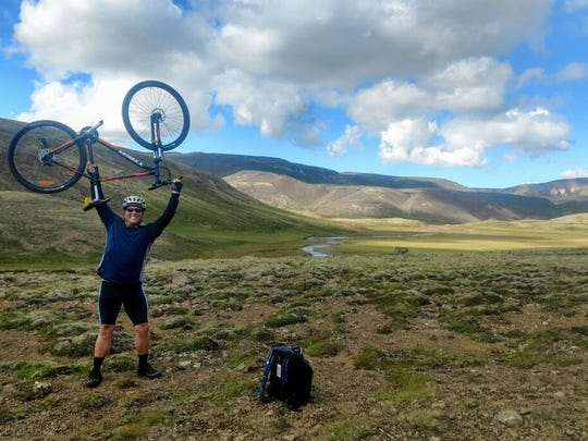 Blake Holiday is pumped for a Climate Ride in August in Iceland.