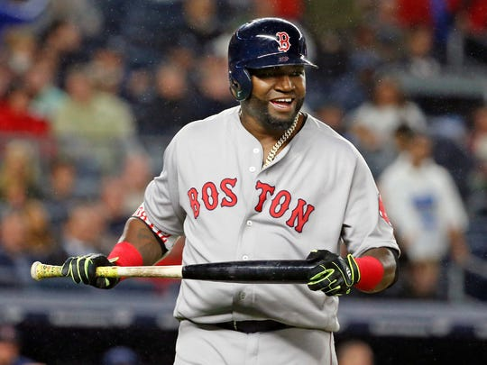 Red Sox slugger David Ortiz.