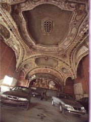 The Michigan Theater as it looked in 2002, the year