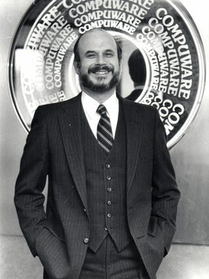 Peter Karmanos Jr., CEO of Compuware. The photo was taken in January of 1983.