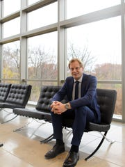ACT's new CEO, Marten Roorda poses for a photo Wednesday,