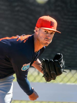 Shane Greene, in his second season in Detroit, earned a place in the rotation with a stellar spring training. He suffered a shoulder injury in 2015 and fell off many observers' radar screens.