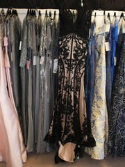 Black lace is a new trend in mother-of-the-bride dresses, but some may not approve.
