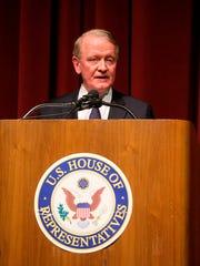 Congressman Leonard Lance holds a town hall meeting