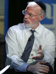 Rabbi Aaron Kotler speaks during the 'Ask the Editor'
