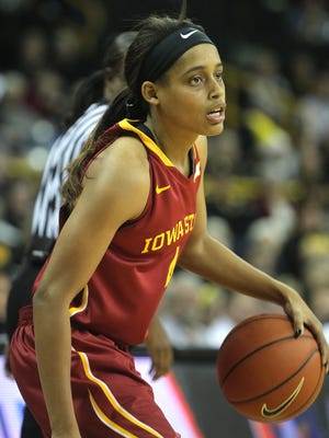 Iowa State's Nikki Moody, seen here on Dec. 11, suffered an ankle injury in the Cyclones' win against Texas Christian this past Wednesday.