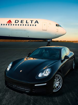 Over the past year, more than 35,000 of Delta Air Lines' SkyMiles Diamond Medallion customers were given rides directly to their connecting flights in a Porsche.