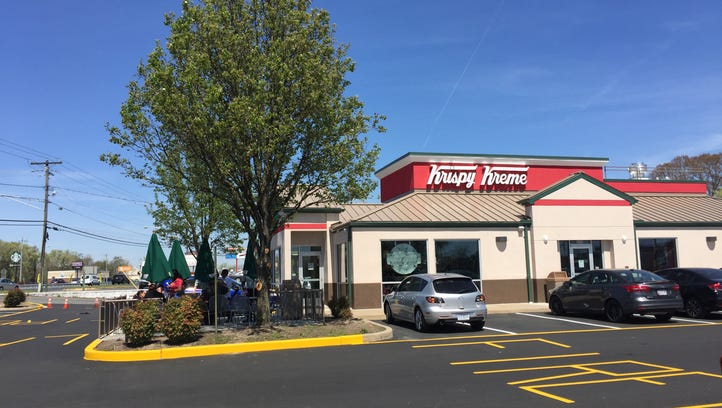 'Come on down!': First two in line at Delaware Krispy Kreme thrilled