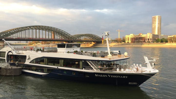 Avalon Waterways' Avalon Visionary docked in Cologne,