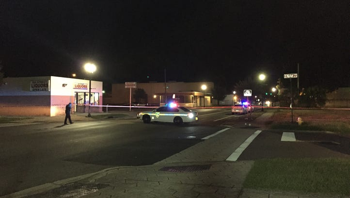 A man is recovering in the hospital after he was shot