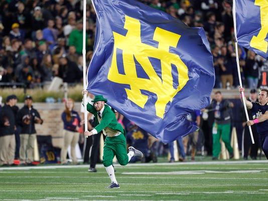 NCAA Football: Southern California at Notre Dame