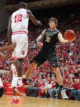 Purdue men's basketball players Neal Beshears and Stephen Toyra spent three weeks in Germany playing exhibition games against pro teams this summer.