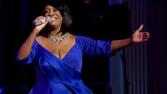 Patti LaBelle performs during Angel Ball 2015 hosted