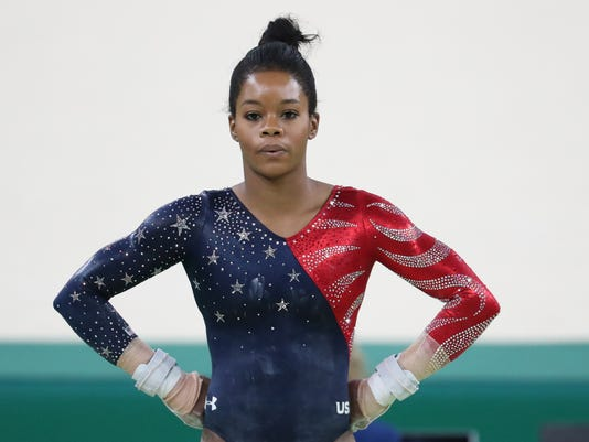 Gabby douglas says she was abused by former team doctor larry nassar usp olympics gymnastics womens qualifications s oly bra gabby douglas m4hsunfo