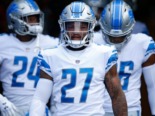 Glover Quin has not missed a start for the Lions since joining in 2013. He turned 33 in January.