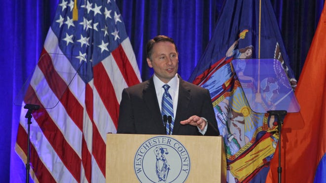Westchester County Executive Rob Astorino delivers his State of the County address Thursday in White Plains.