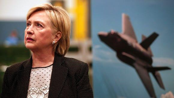 Hillary Clinton tours Futuramic Tool & Engineering