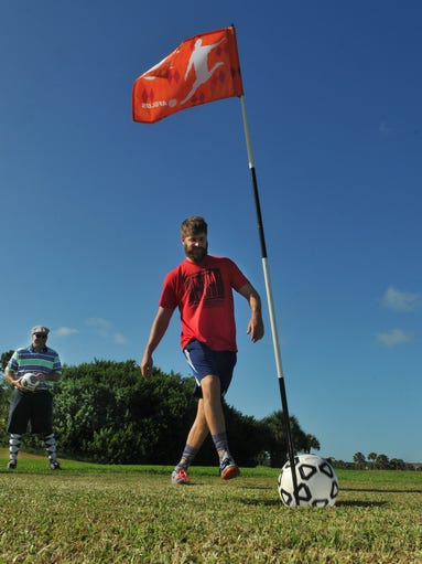 Footgolf at Mallards Landing Golf Course Melbourne  Mallards Landing Golf Course Melbourne Fl