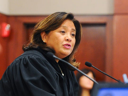 Chief Judge Frances Tydingco-Gatewood is shown in this file photo.