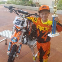 7-year-old racer gets the chance of a lifetime
