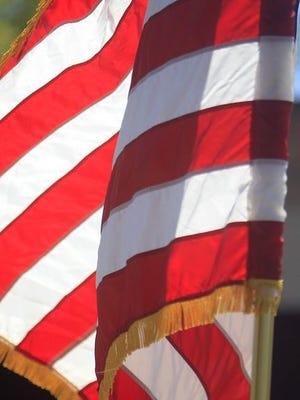 U.S. flag.