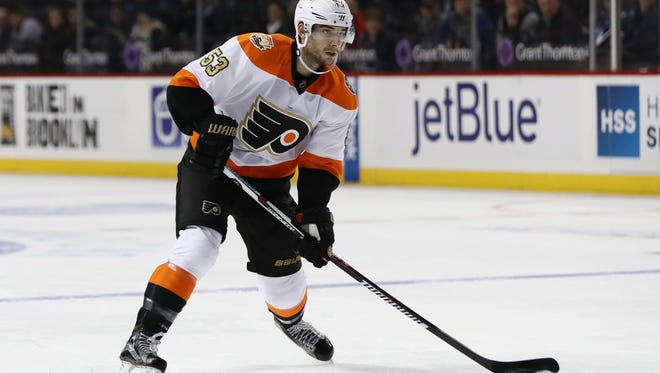 Shayne Gostisbehere will be honored at a banquet Feb. 3 in Cherry Hill.